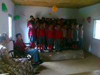 Students in Mairang Vidyajyoti Inclusive School celebrated Independence Day