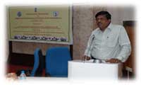 Mr. Anupam Das, Vocational Counsellor, A.Y.J.N.I.H.H., Mumbai delivered a presentation