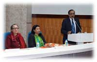 Vote of Thanks by Dr M. Barthakur, Project Director and State Coordinator, SRC, Civil Hospital, Shillong
