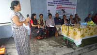 The programme was conducted at Thangsning village, Mawkynrew Block, Meghalaya