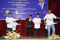 Students participated in various events during the programme