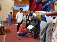 Distribution of Scholarship for Differently Abled Students