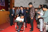 CM seeks Centre's intervention for people with disabilities, Meghalaya