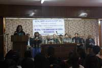 Speech from the State Commissioner of Persons with Disabilities, Meghalaya