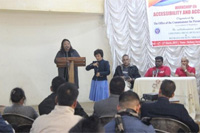 Workshop on Accessibility and Access Audit on AIC-III at Bethany Society, Shillong