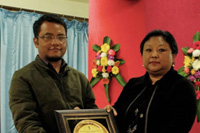 Shri Ferdanand Lyngdoh Marshillong, Awarded for an outstanding performances in the field of Education