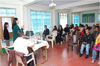 Inservice Training & Sensitization of key functionaries