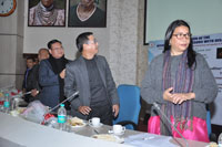Launch of the Meghalaya Sign Bank by Chief Guest Shri H. Marwein, Additional Chief Secretary, Social Welfare