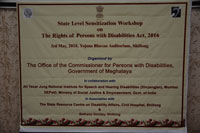 Workshop on Accessible Elections - Inclusion of Election Sign language on 7th & 8th November, 2018